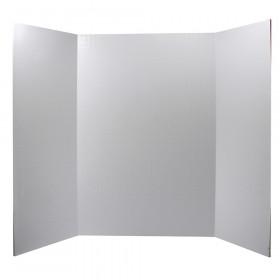 """Foam Presentation Board, White, 1/2"""" Faint Grid 28"""" x 22"""", 1 Board"""