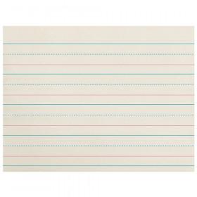 Zaner-Bloser Newsprint Ream 1-1/8In Ruled Long Way 500 Shts