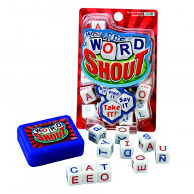 Word Shout Roll It, Find It, Say It, Take It! Dice Game