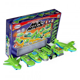 Magnetic Mix or Match Vehicles 1+3