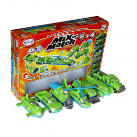 Magnetic Mix or Match Vehicles 2+4