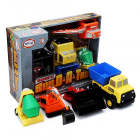 Magnetic Build-a-Truck