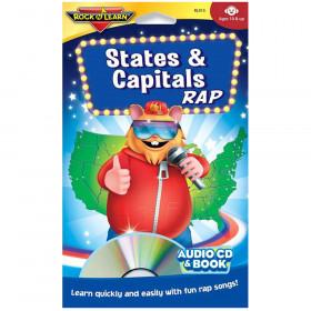 States & Capitals Rap Cd & Book