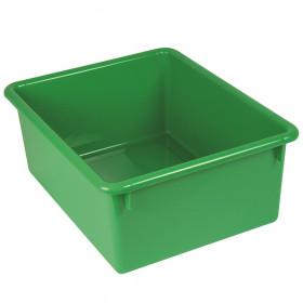 "Stowaway 5"" Letter Box no Lid, Green"
