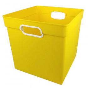 Cube Bin Yellow
