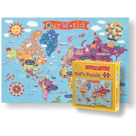 Kid's Jigsaw Puzzle, World