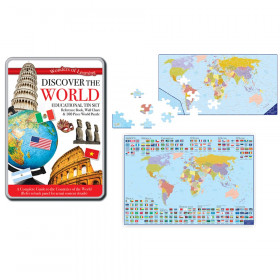 Tin Set Discover The World Wonders Of Learning
