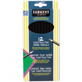 Colored Pencils For Construction Paper 12 Color Set
