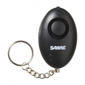 Mini Personal Alarm W/ Led Light