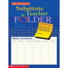 The Scholastic Substitute Teacher Folder