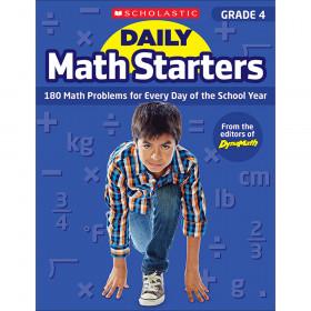 Daily Math Starters Gr 4