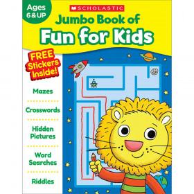 Jumbo Fun Workbooks Fun For Kids