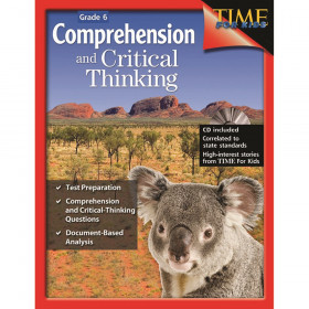 Comprehensive and Critical Thinking Book, Grade 6
