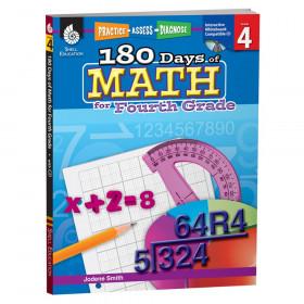 180 Days Of Math Gr 4