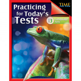 TIME For Kids: Practicing for Today's Tests Book, Language Arts, Level 3