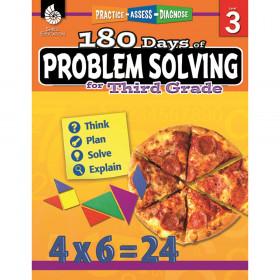 180 Days of Problem Solving Book, Grade 3