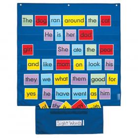 "Mid-Sized Pocket Chart, 28"" x 28"""