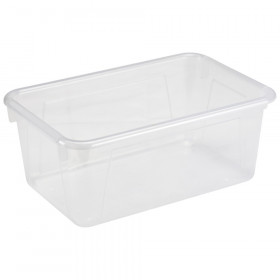 Small Cubby Bin, Translucent, 5-Pack