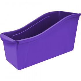 Large Book Bin, Purple