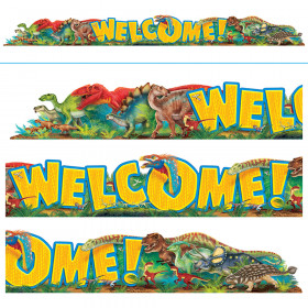 Welcome Discovering Dinosaurs™ Quotable Expressions® Banner – 10 Feet
