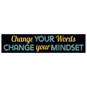 Change your words... Quotable Expressions Banner, 3'