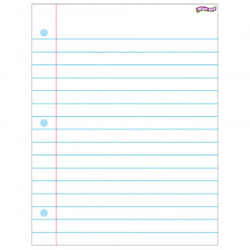 Notebook Paper Wipe-Off® Chart