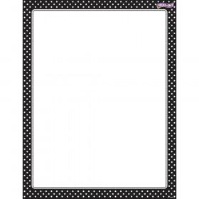 Polka Dots Black Wipe-Off® Chart