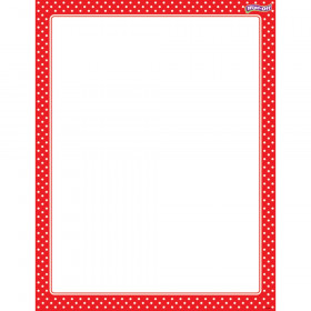 Polka Dots Red Wipe-Off® Chart