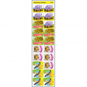 Awesome Animals Applause STICKERS