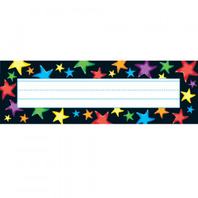 Gel Stars Desk Toppers Name Plates, 36 ct