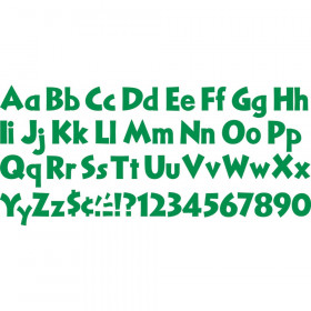 """Kelly Green 4"""" Venture Combo Ready Letters"""