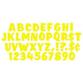 Ready Letters 4 Inch Splash Yellow