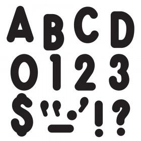 Black 7-Inch Billboard Uppercase (EN/SP) Ready Letters