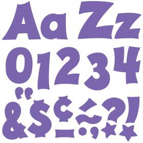 Purple 4-Inch Friendly Uppercase/Lowercase Combo Pack (EN/SP) Ready Letters®