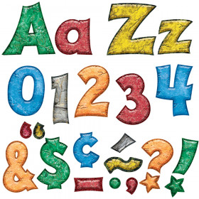 Rock 'n Stones 4-Inch Friendly Uppercase/Lowercase Combo Pack Ready Letters®