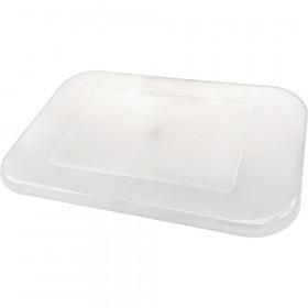 Clear Plastic Storage Bin Lid - Small