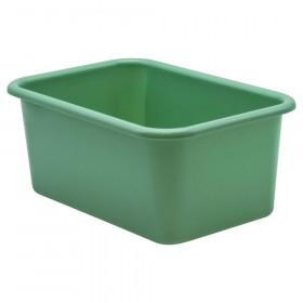 Eucalyptus Green Small Plastic Storage Bin