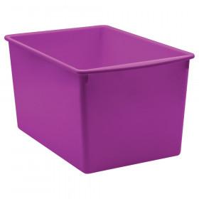 Purple Plastic Multi-Purpose Bin
