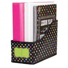 """Chalkboard Brights Book Bin, 5""""W x 8""""H x 11""""D"""