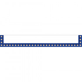 Dark Blue Marquee Magnetic Pockets - Large