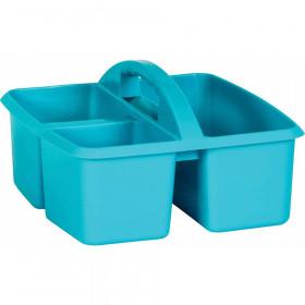 Teal Plastic Storage Caddy