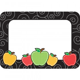 Dotty Apples Name Tags/Labels