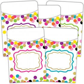 Confetti Library Pockets