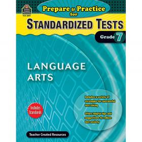 Prepare & Practice for Standardized Tests: Language Arts (Gr. 7)