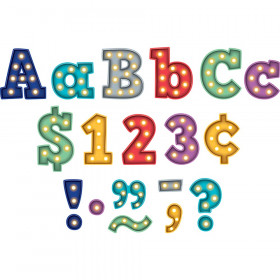 """Marquee Bold Block 3"""" Letters Combo Pack"""