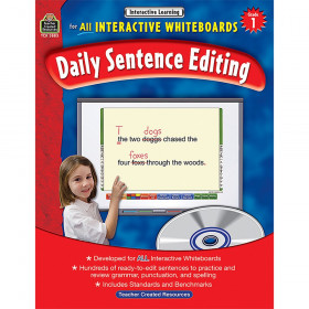 Interactive Learning: Daily Sentence Editing (Gr. 1)