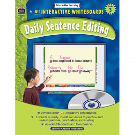 Interactive Learning: Daily Sentence Editing (Gr. 3)