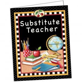 Mary Engelbreit Substitute Teacher Pocket Folder