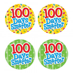 100 Days Smarter Wear ?Em Badges