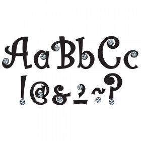 """7"""" Bling Letters with Jewels, 202 Pieces"""